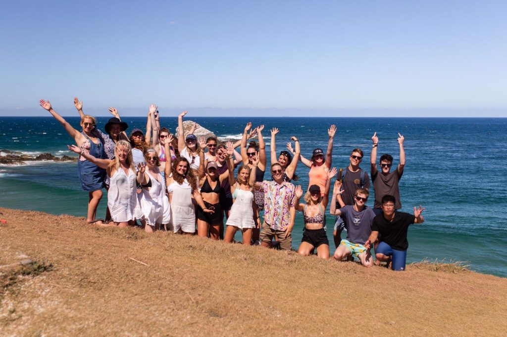 Another group shot of Where's Mollie Global Travellers