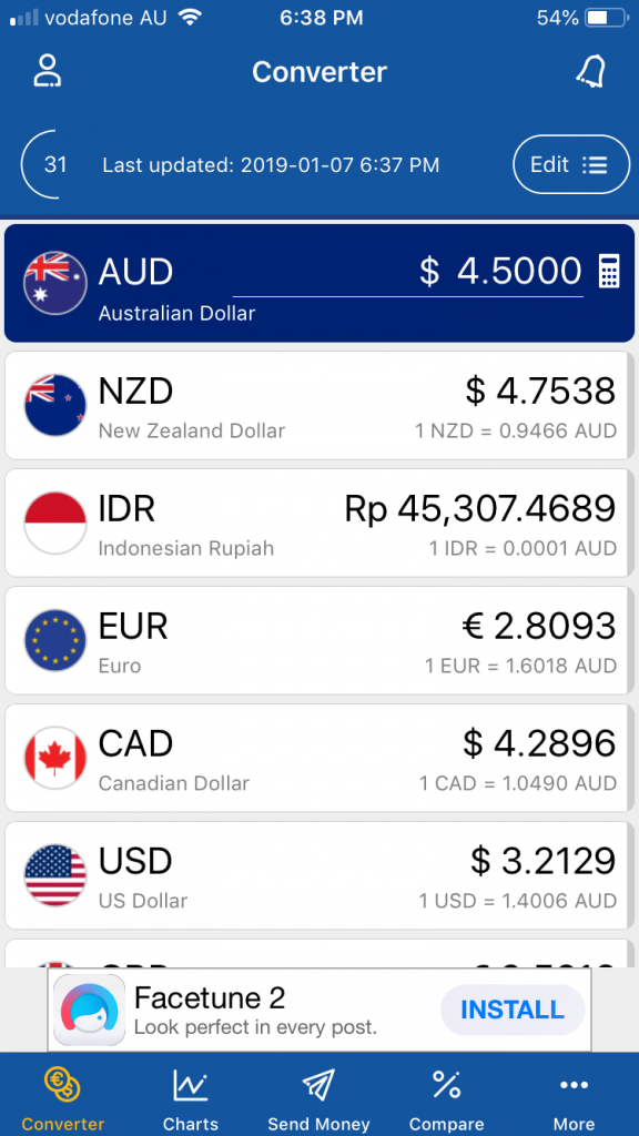 Always know how much something is in your currency - with this must-have travel app