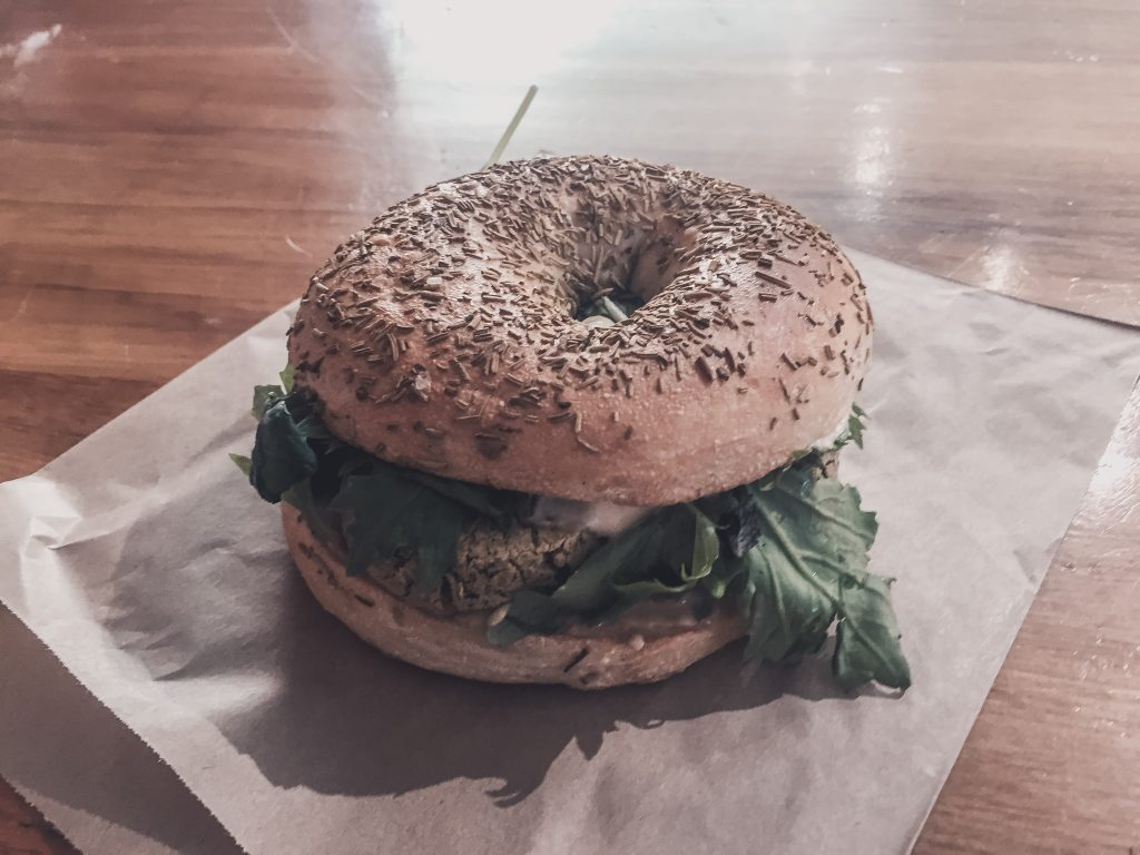 Vegan bagel Queenstown; vegan in Queenstown