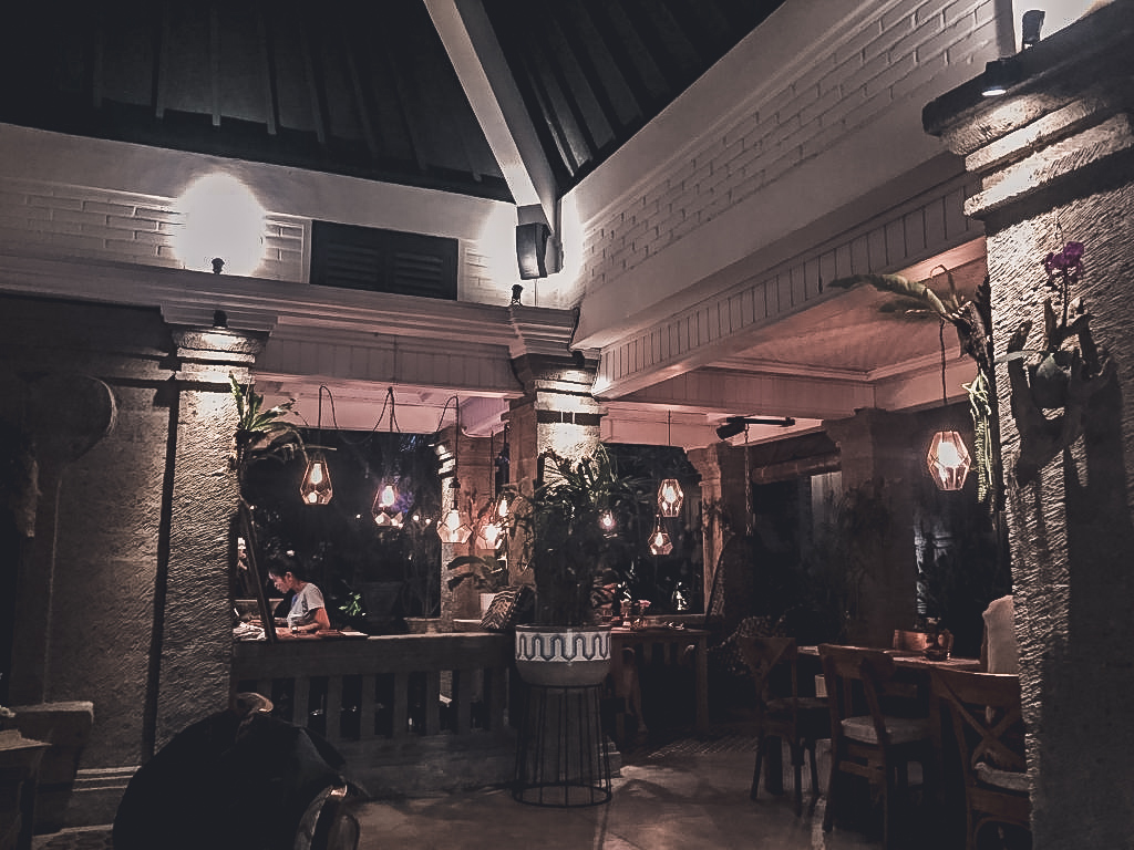 Vegan restaurant in Ubud