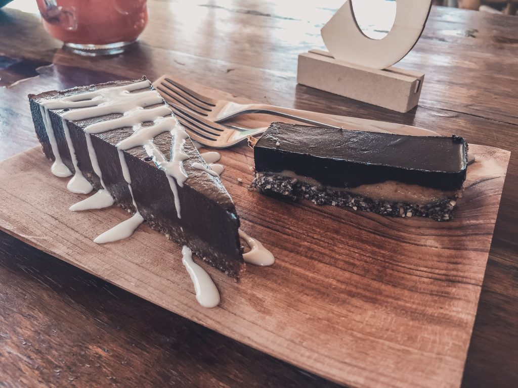 Raw vegan dessert in Koh Phangan, great vegan dessert in Thailand