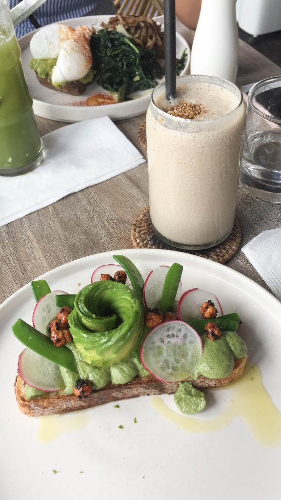 Vegan breakfast Canggu