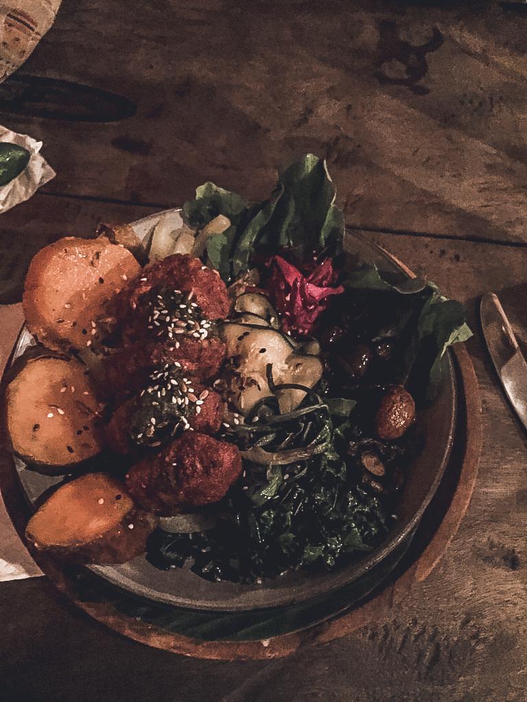 Vegan bowl in Canggu
