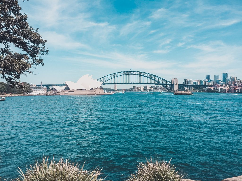 The best view of the Sydney Opera House and the Sydney Harbour Bridge!