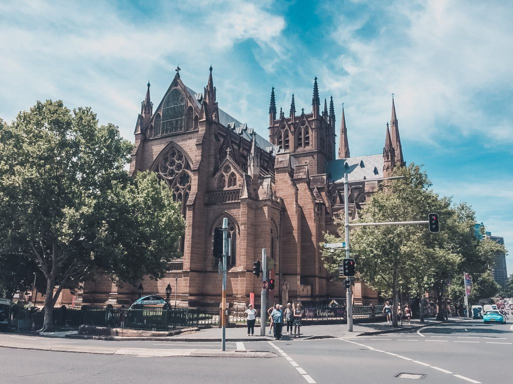 The impressive St Mary's Cathedral is in between many stops of your itinerary for exploring Sydney by foot.