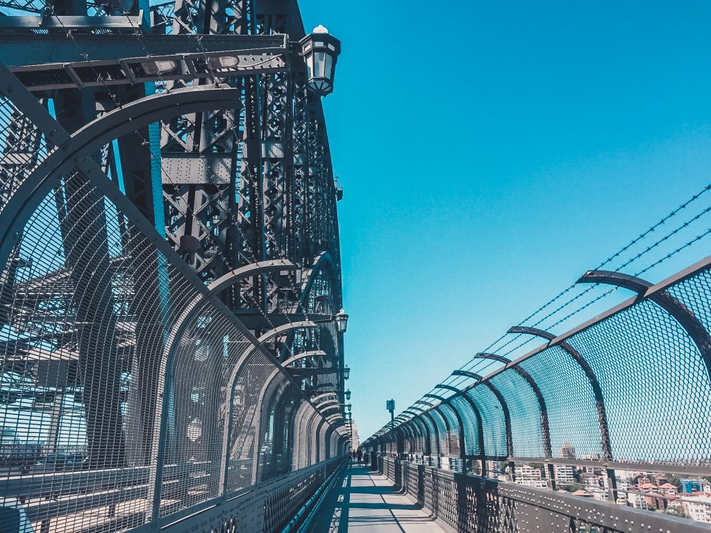 Obviously, no guide to exploring Sydney by foot would be complete without crossing the Sydney Harbour Bridge.