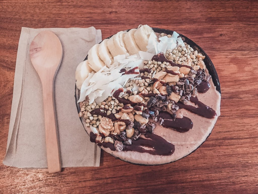 Vegan smoothie bowl in Hobart