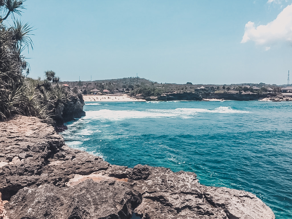 Dream Beach was one of my favorites when exploring Nusa Lembongan by foot.