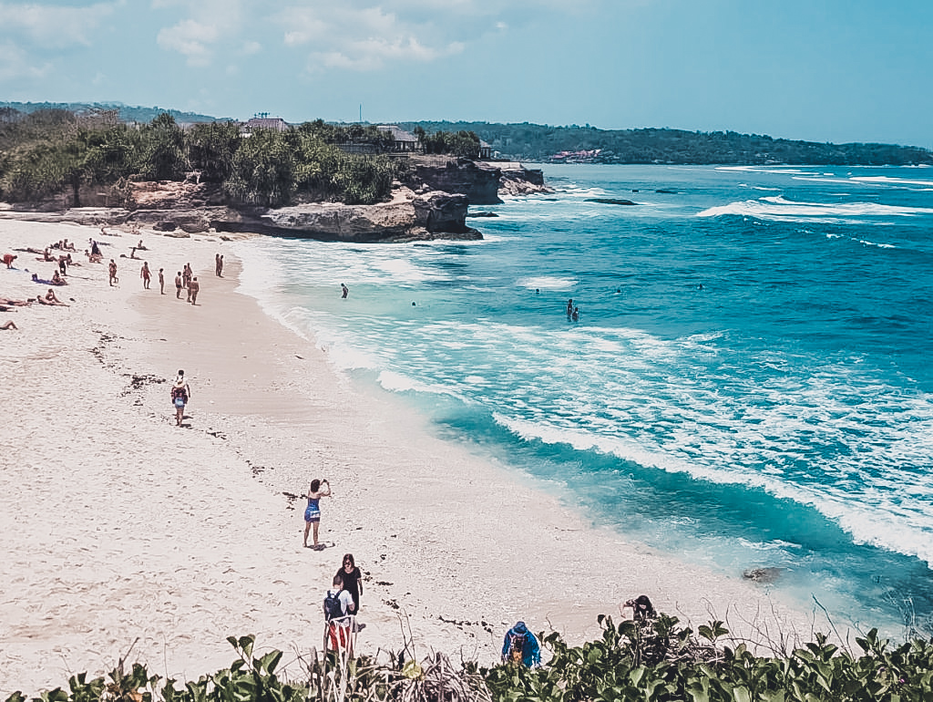 When you're exploring Nusa Lembongan by foot, you'll be rewarded with views like this.