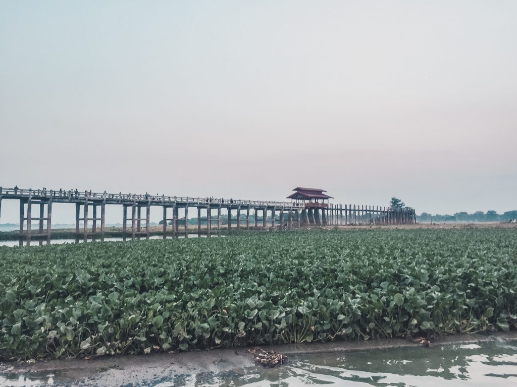The longest teakwood bridge in the world should be part of your Myanmar itinerary