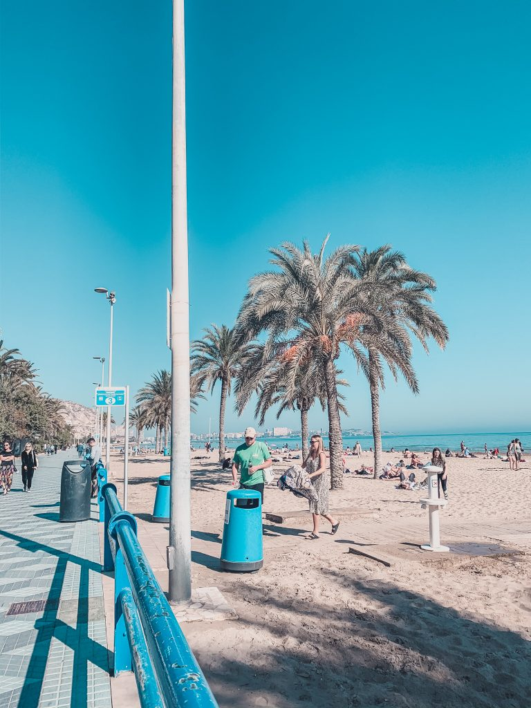 Don't miss the beach when visiting Alicante on a budget