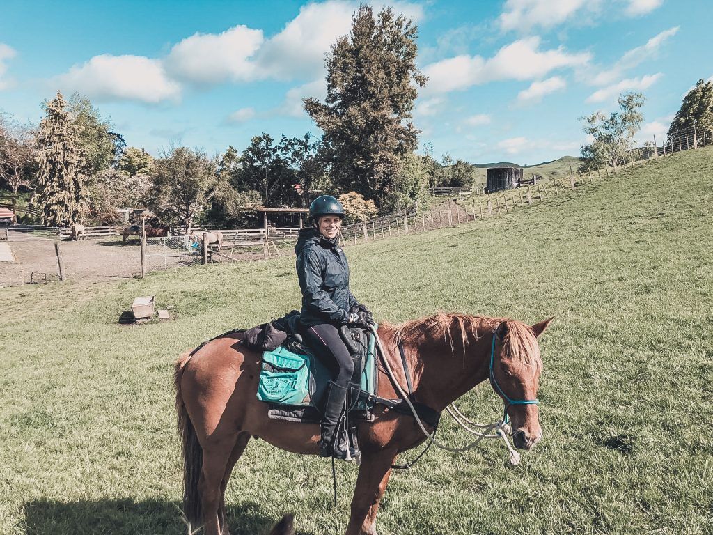 I hadn't been riding in years, so this was definitely one of the best activities with Kiwi Experience for me.