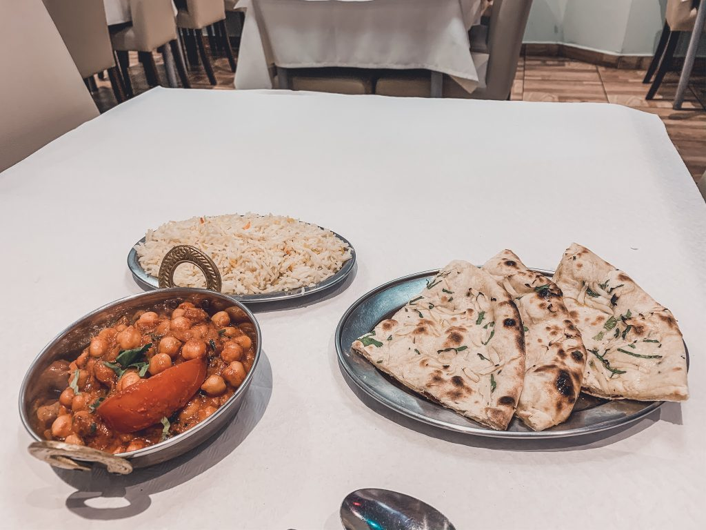 Indian place for any vegan in Alicante