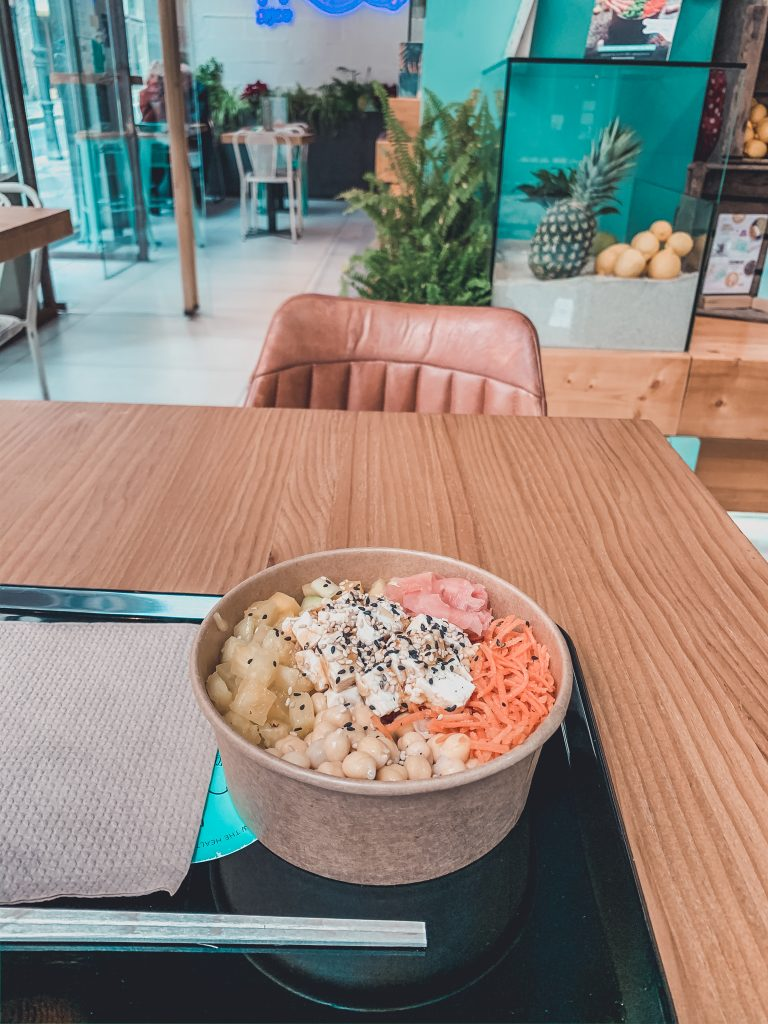 Poke bowl for any vegan in Alicante