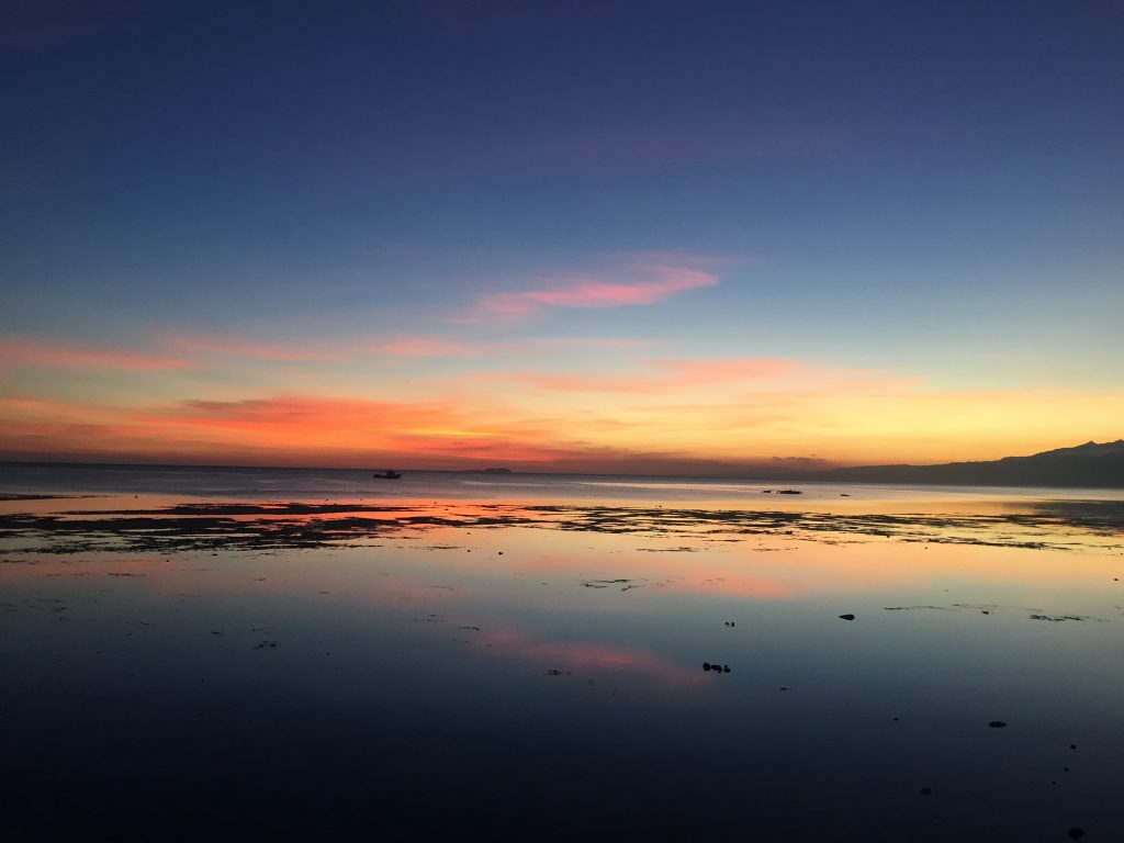 There is no Philippines itinerary - 3 weeks without sunsets